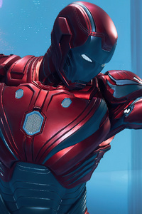800x1280 Iron Man Marvels Avengers 2020