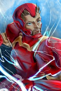 Iron Man Mask Off Art
