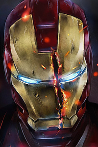 540x960 Iron Man Mask Split