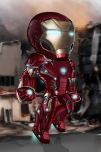 720x1280 Iron Man Mini 4k