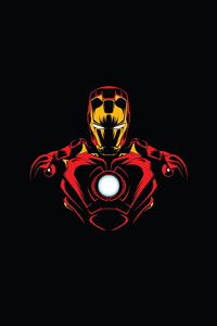 Iron Man Minimal Design