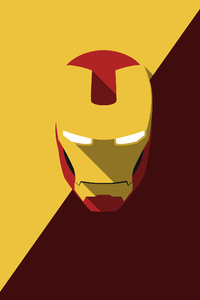 Iron Man Minimalism 4k 2018