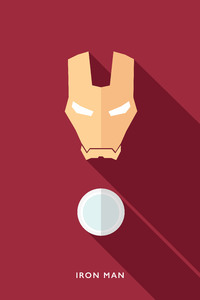 240x320 Iron Man Minimalists 4k