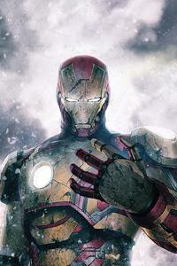 1440x2560 Iron Man Mk42 4k