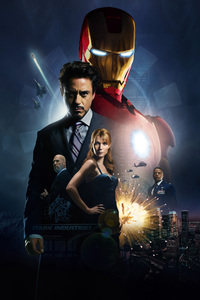 1242x2688 Iron Man Movie