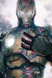 320x568 Iron Man New 2020 4k