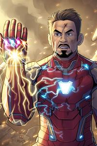 1242x2688 Iron Man New 4kart