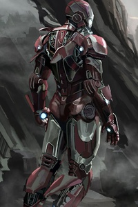 Iron Man New Art 2019