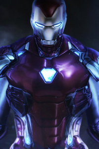 1080x2160 Iron Man New Art Hd