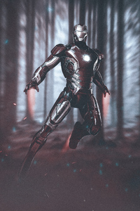 750x1334 Iron Man New Artworks