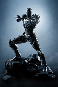 Iron Man New Black Suit 5k