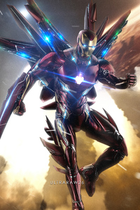 Iron Man New Suit Art