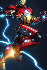 800x1280 Iron Man New Suit Artworks