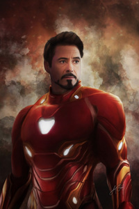 Iron Man New Suit For Avengers Infinity War Artwork