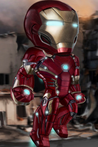 640x960 Iron Man New4k 2019