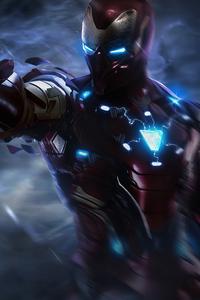 240x320 Iron Man Newsuit
