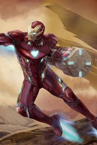Iron Man Newsuit Art