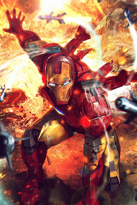 Iron Man On Duty