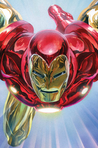 Iron Man Paint Arts