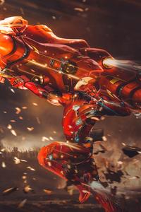 Iron Man Proton Cannon 4k
