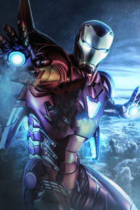 1440x2960 Iron Man Ready 4k