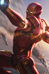 Iron Man Ready Artwork 4k