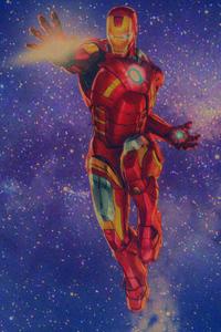 Iron Man Retro Design