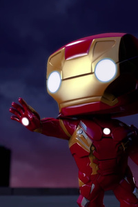 Iron Man Spellbound Animated Movie