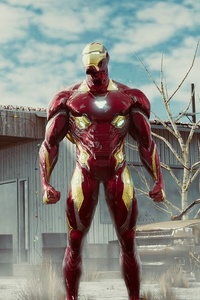 Iron Man Spiderman Captain America
