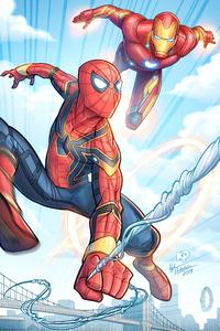 Iron Man Spidey