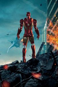 1440x2560 Iron Man Stark Tower