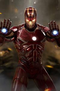 1280x2120 Iron Man Stop