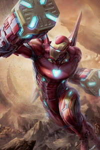 Iron Man Suit In Avengers