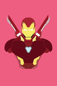 Iron Man Suit Minimalism