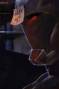 Iron Man Suit Wash Me