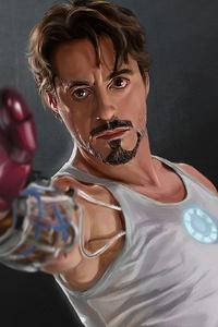 750x1334 Iron Man Testing Suit