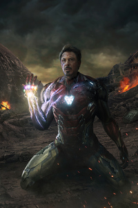 2160x3840 Iron Man The Last One