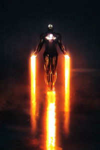1080x2160 Iron Man The Only One