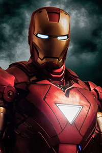 Iron Man The Savior 4k