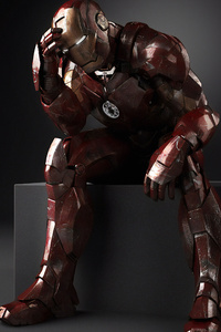 Iron Man Thinking
