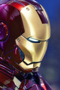 640x960 Iron Man Thoughts 4k