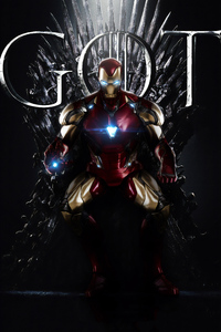 Iron Man Throne