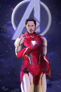 540x960 Iron Man Tony Art
