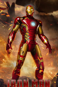 240x400 Iron Man Tony Stark 4k