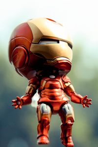 Iron Man Toy Photography