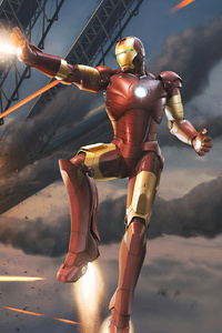 1080x2280 Iron Man Ultimate