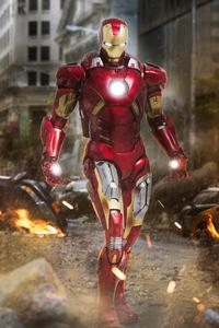 360x640 Iron Man VII 4k
