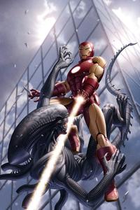 Iron Man Vs Alien 5k