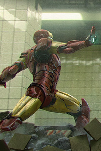 Iron Man Vs Skrull