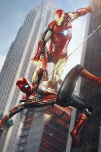 Iron Man Vs Spiderman